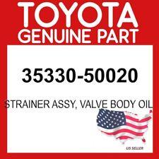 TOYOTA GENUINE 35330-50020 STRAINER ASSY, VALVE BODY OIL OEM