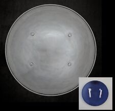 Medieval Round Steel Shield. Ideal for Stage, Costume and Re-enactment