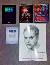 Men In Black (2-Disc Set Collectors Edition), Rush Hour, and Blade DVDs