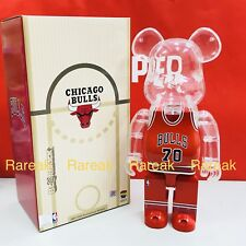 Medicom Be@rbrick NBA x Milk Magazine 400% Chicago Bulls Bearbrick 1pc