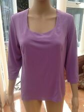 George Simonton Lavender Top size Medium