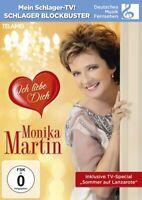 MONIKA MARTIN - ICH LIEBE DICH   DVD NEW+