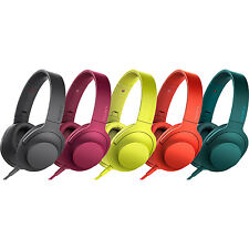 Sony h.Ear on Premium Hi-Res On-Ear Headphones with Inline Remote - MDR100AAP
