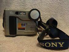 SONY Mavica MVC-FD71 10x Opt. Zoom Digital Still Camera With Neck Strap