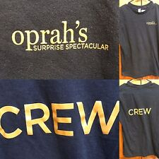 The Oprah Winfrey Show Surprise Spectacular Crew Black Tee T Shirt Women's M