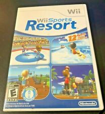 Wii Sports Resort (Nintendo Wii) Clean & Tested Working - Fast Free Shipping