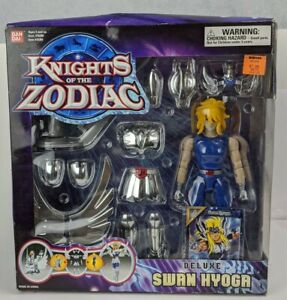 2003 Bandai Knights Of The Zodiac Deluxe Swan Large Action Figure Saint Seiya