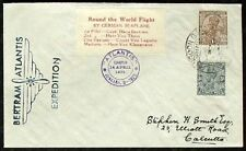 s863) Correo aéreo India Bertram Round the World Flight 1932 a Stephen Smith rs