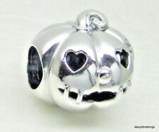 NEW/TAGS   AUTHENTIC PANDORA SILVER CHARM  SWEET PUMPKIN  #797596