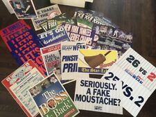 Large Lot of 45 pieces -  VINTAGE YANKEES Baseball Posters