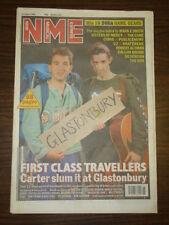 NME 1992 JUN 27 CARTER THE CURE ORB U2 SILVERFISH CURVE