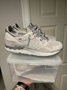 Asics Gel Lyte V 5 Nubuck Pack Light Grey Size 13 VNDS With replacement box