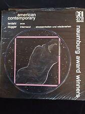 2Oth C Modern Music: CRI SD 378 Fred Lerdahl + Edwin Dugger Still Sealed