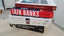 Iain Banks science fiction books job lot x 5