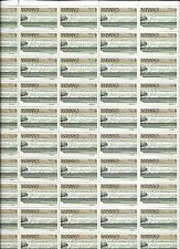 CANADA -- 1979 -- $ 1.00 FUNDY NATIONAL PARK -- SHEET OF 50