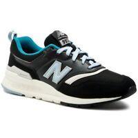 New Balance Women's US Size 9 B Medium 997H Black Blue CW997HNB New In Box $90