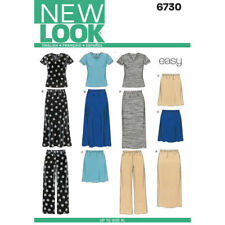 New Look Sewing Pattern 6730 Misses 10-24 Easy Top Pants and Skirts 2 Lengths