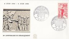 FRANCE : 1984 40th ANNIVERSARY OF D.DAY-BAYEUX special cancel