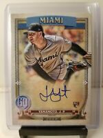 2020 Topps Gypsy Queen Jordan Yamamoto RC Autograph Auto Rookie Marlins