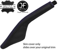 PURPLE STITCH CARBON FIBER VINYL HANDBRAKE BOOT FOR PORSCHE 924 944 968 75-95