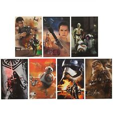 Disney Store Star Wars 7 Lithograph Set Limited Edition 10000 The Force Awakens