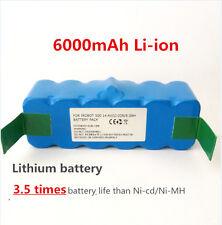 6.0Ah Li-ion Battery For iRobot Roomba 500 532 540 560 562 564 570 580 760 770