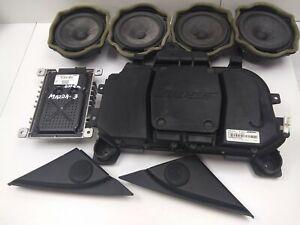 MAZDA 3 2008 BOSE SOUND SYSTEM SET BR8W66960A / BP4L66960 / 11613935
