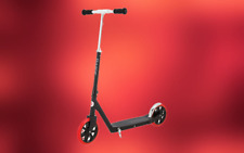 Stylish and Fun Kick Scooter for Kids 8+ (Black) Anti-Slip Surface for Safety