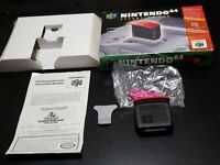 Nintendo 64! N64! Expansion Pak COMPLETE! TESTED! FREE SHIPPING! W/ EJECTOR TOOL