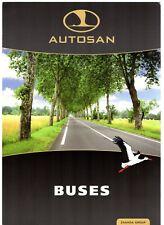 Autosan City & Intercity Buses 2010-12 UK Market Single Sheet Sales Brochure