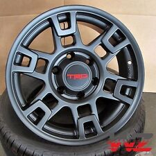 17x9 Toyota TRD Style Matte Black Wheels Fits Lifted 4Runner Tacoma PreRunner