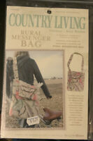 COUNTRY LIVING SEWING PATTERNS BY AMY BUTLER- RURAL MESSENGER BAG