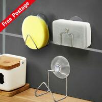 Sink Draining Kitchenware Holder Sponge Cup Storage Rack Suction G9FA