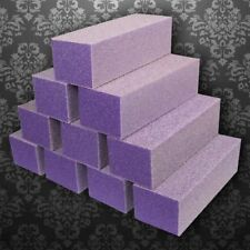 Dixon Buffer Block Purple White Grit 3 Way 60/100 (pack of 10)