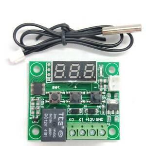 New -50-110°C W1209 Digital thermostat Temperature Control Switch DC 12V& Sensor
