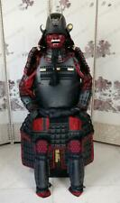 ★ Belle armure japonaise Rüstung Samurai Ketsueki Mentsu Ghost O034