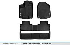 All Weather MAXFloor Mats 2 Row Set BLK Fit 17-19 Honda Ridgeline (all models)