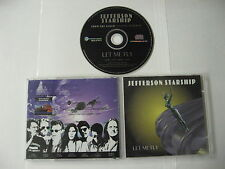 Jefferson Starship - let me fly SINGLE PROMO - CD Compact Disc