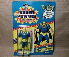 Sealed 1985 Kenner DC Super Powers Collection 23 Back DR FATE On Card