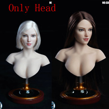 SUPER DUCK 1/6 SDH018 Girl Head Sculpt Fit For 1/6 Female Action Figure Phicen