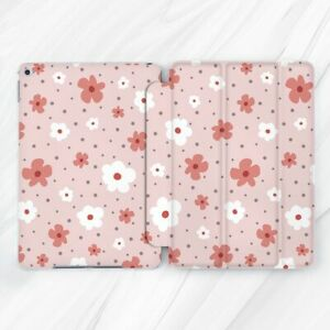 Retro Vintage Girly Flowers Case For iPad 10.2 Air 3 Pro 9.7 10.5 11 12.9 Mini