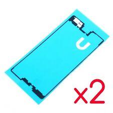 Lot 2pcs FRONT Sticker Tape For LCD Screen Housing Frame Adhesive Sony Xperia M5