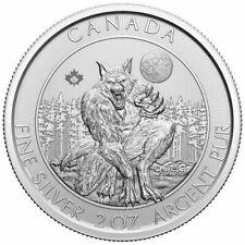 CANADA 10 Dollars Argent 2 Onces Créatures du Nord le Loup-Garou 2021