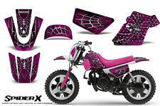 YAMAHA PW50 CREATORX GRAPHICS KIT DECALS SPIDERX PINK