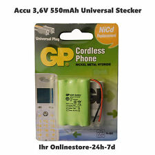 Accu Batterie Rechargeable Battery T207 3.6V 550mAh Ni-Mh, 3xAAA, 46x30x10.5mm