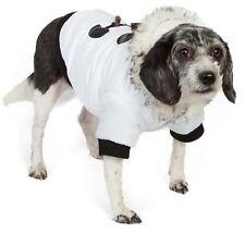 Aspen Winter-White Insulated Fashion Designer Pet Dog Coat Jacket Parka w/ Hood