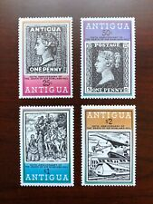 Antigua 1979 Scott #528-531 Sir Rowland Hill Set of 4 Stamps Mint NH