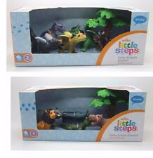 LITTLE STEPS LETS PLAY BABY DRAGON PLAYSET BABY JUNGLE DINOSAUR  PLAYSET FIGURES
