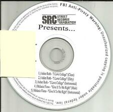 ASHER ROTH & MELANIE FIONA I love College / Give  CLEAN & INSTRUMENTAL PROMO CD