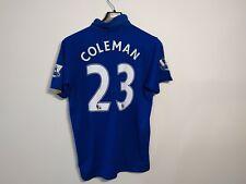Everton Coleman 23 Football Shirt M Le coq sportif autograp